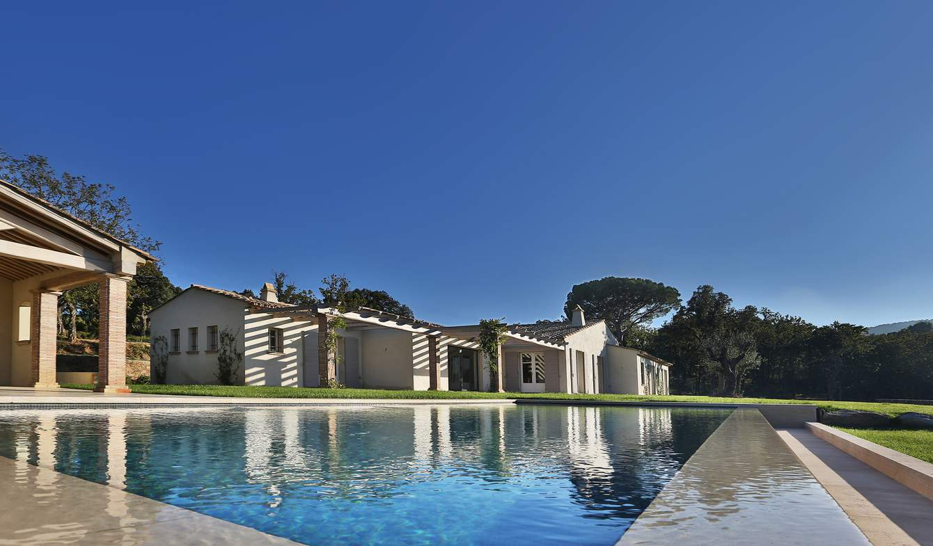 House with pool and garden Ramatuelle