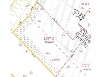 Terrain à bâtir 746 m2