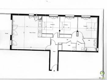 Appartement 4 pièces 92,02 m2