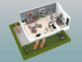 Studio 33,48 m2