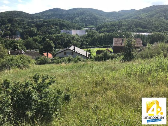 Vente terrain 1168 m2
