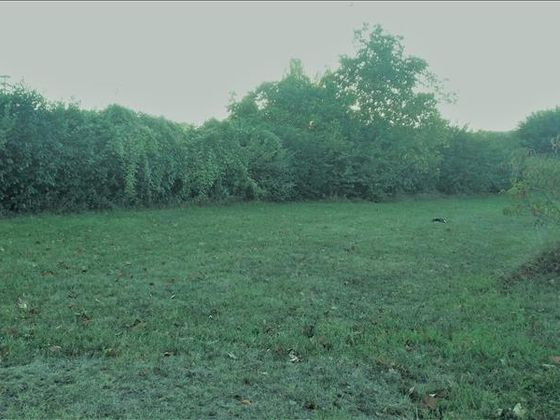 Vente terrain 852 m2