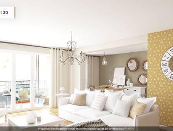 Appartement 5 pièces 104,25 m2