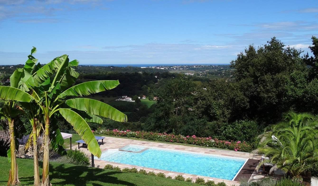 Maison avec piscine Ascain