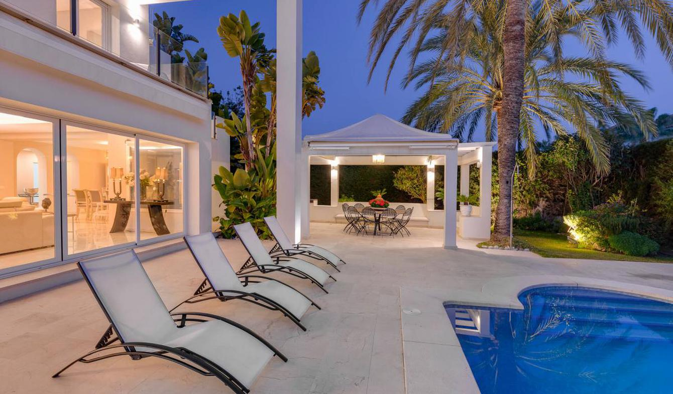 Villa avec piscine et terrasse Estepona