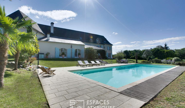 Maison avec piscine et terrasse Navarrenx