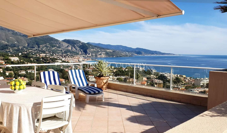 Apartment with terrace and pool Roquebrune-Cap-Martin