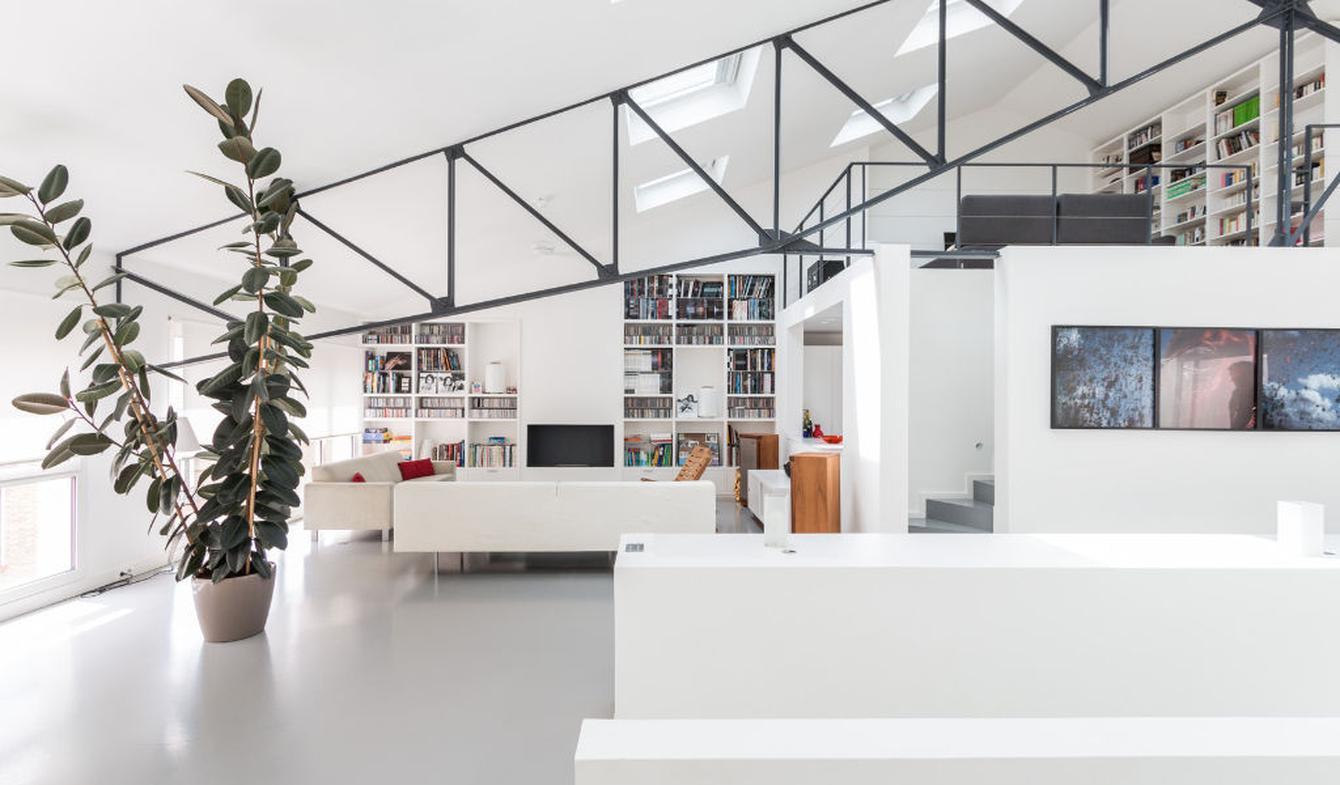 Loft with terrace Malakoff