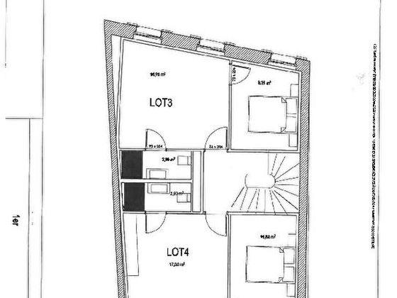 Location appartement 2 pièces 27,9 m2