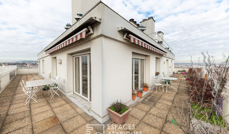 Apartment with terrace Dijon