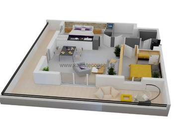 Appartement 3 pièces 64,19 m2
