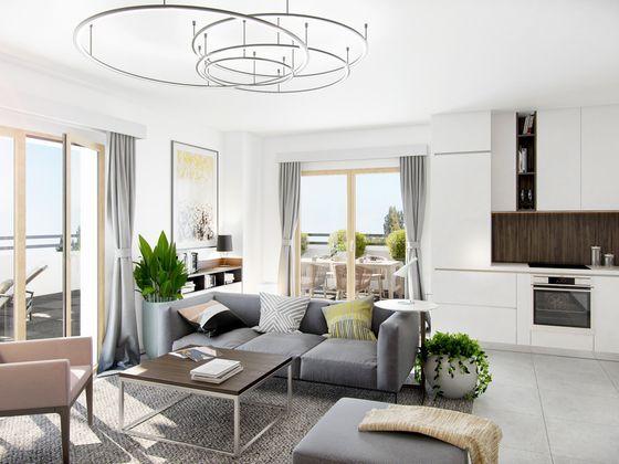 vente Appartement 2 pièces 47,22 m2 Lyon 8ème