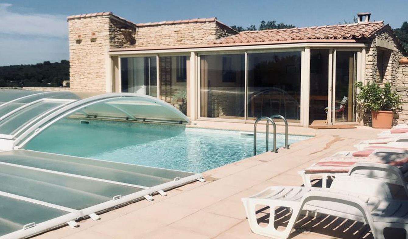 Propriété avec piscine Gordes