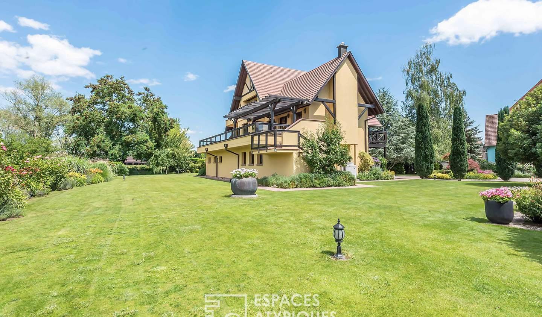 House with terrace Illhaeusern