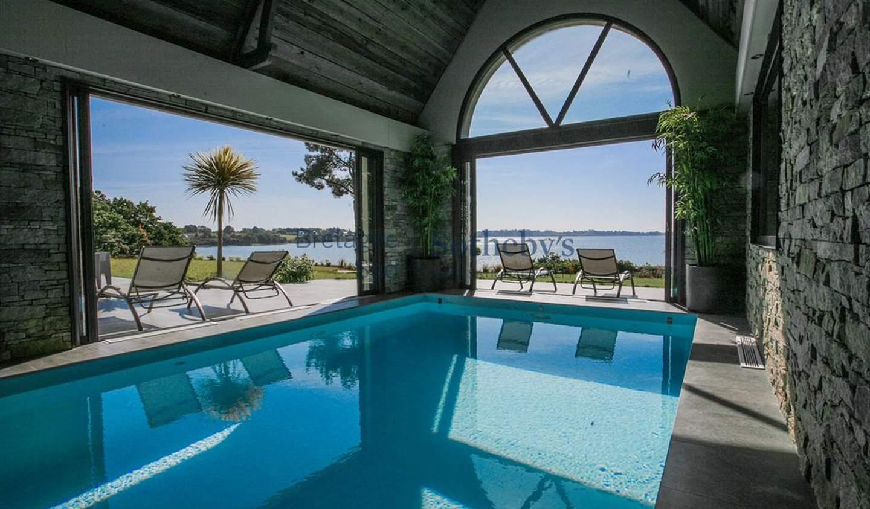 Maison avec piscine en bord de mer Larmor-Baden