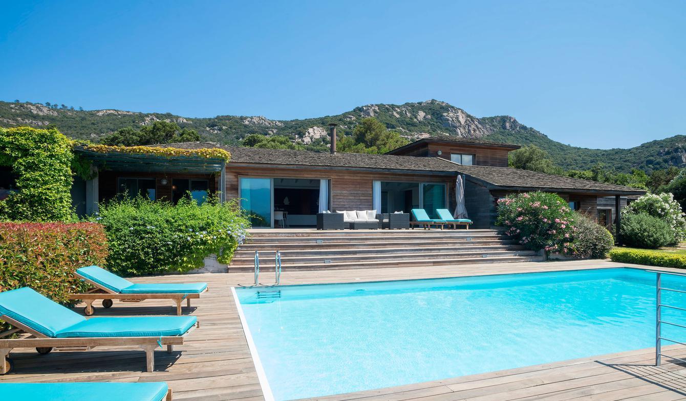 Maison avec piscine en bord de mer Porto-Vecchio
