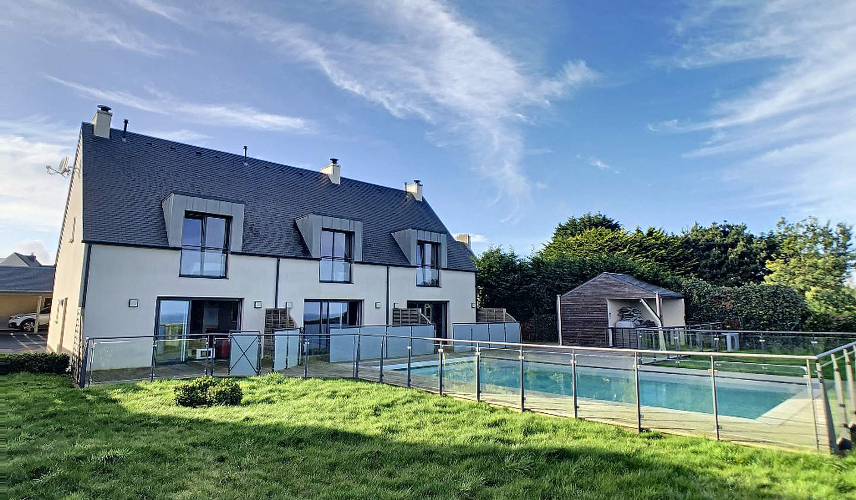 Maison avec piscine et terrasse Roscoff
