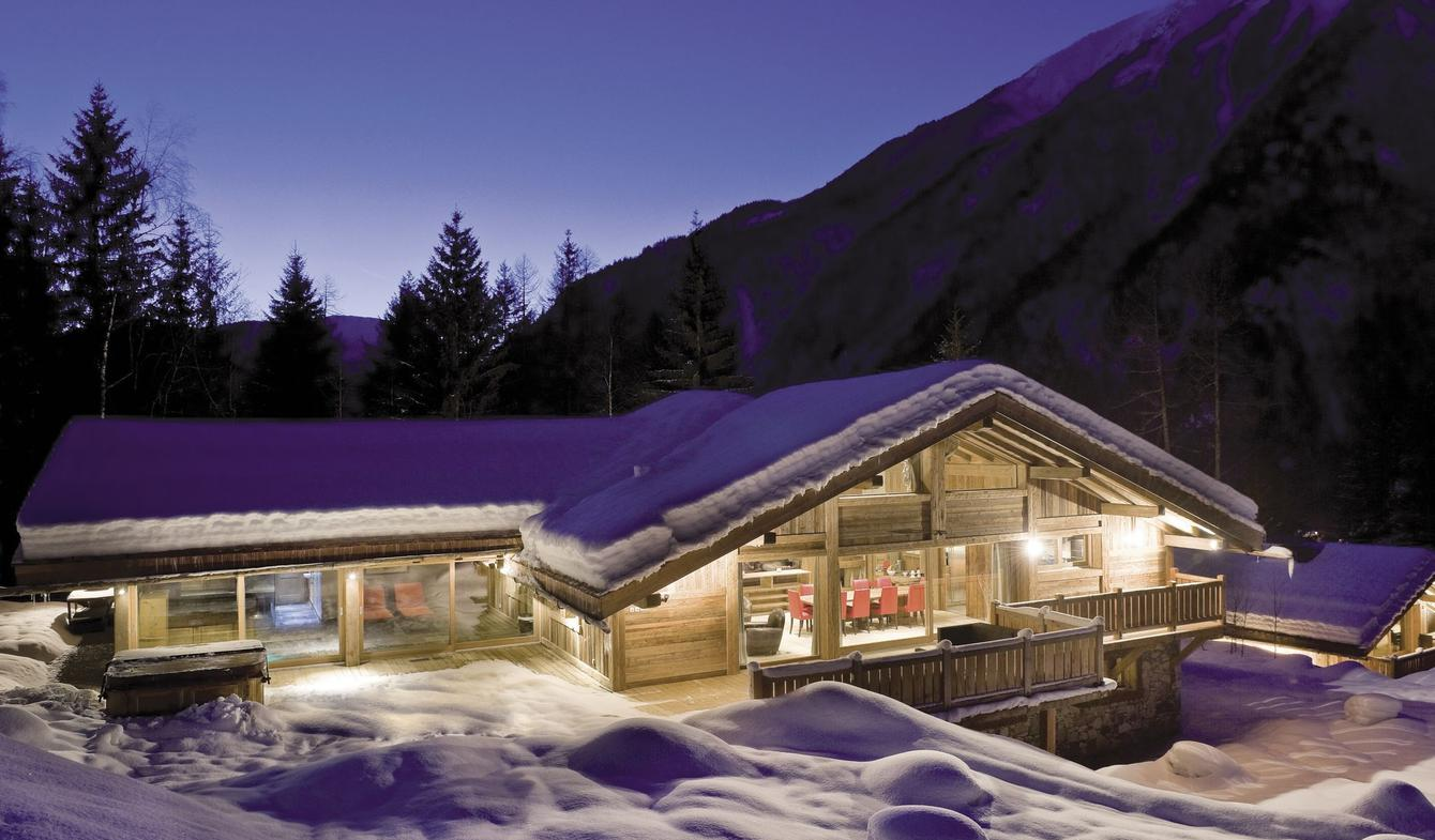 Chalet with pool Chamonix-Mont-Blanc