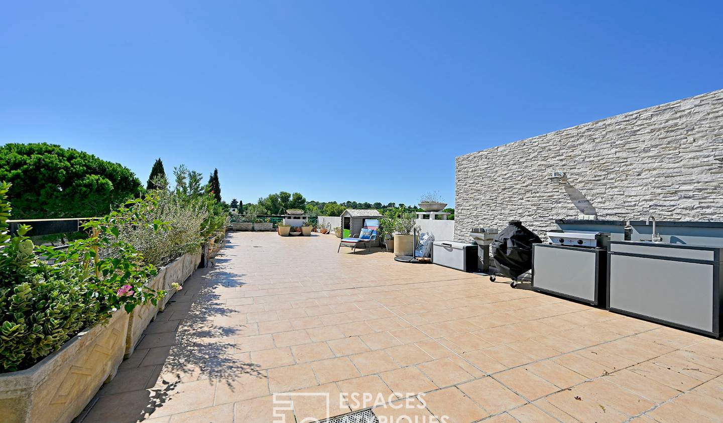 Apartment with terrace and pool Montpellier