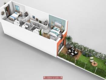 Duplex 3 pièces 57,82 m2