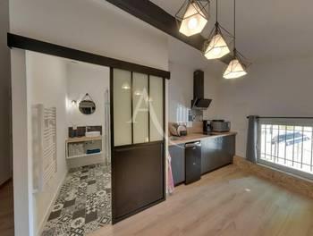Studio meublé 23,89 m2