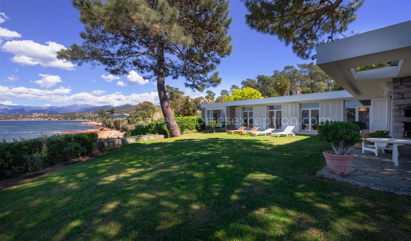 Seaside property with pool Porticcio