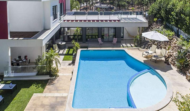 Villa avec piscine en bord de mer Tróia Peninsula