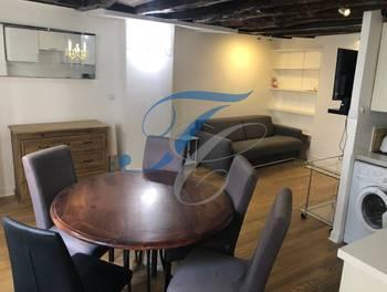 Appartement meublé 2 pièces 37,4 m2