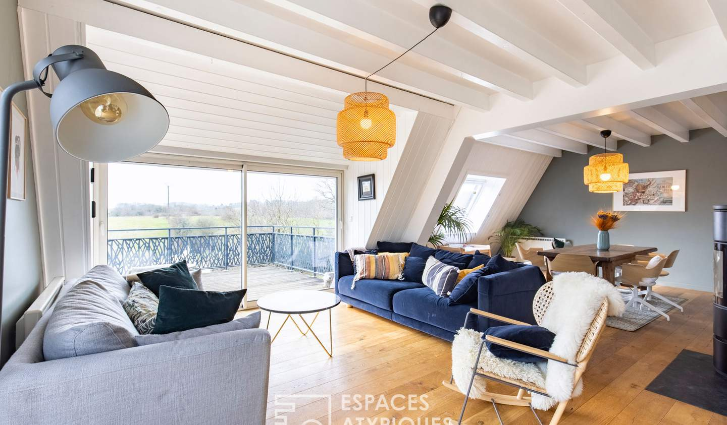 House with pool and terrace Saint-Vit