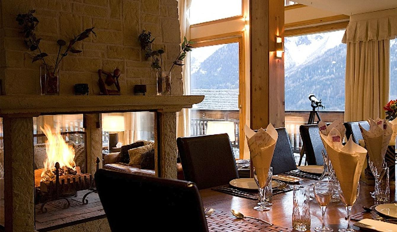 Chalet with pool Les Houches
