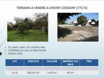 Terrain 385 m2