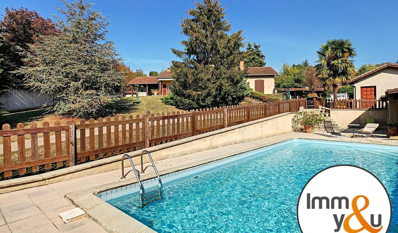 Maison avec piscine et terrasse Salaise-sur-Sanne