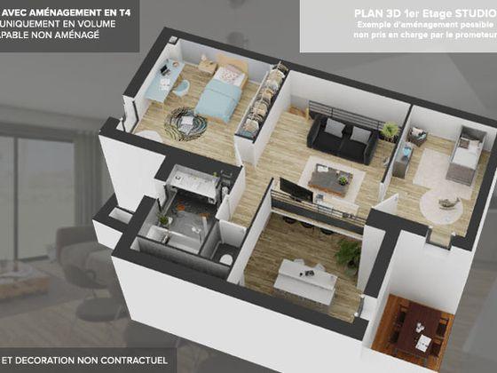 Vente maison 1 pièce 114 m2