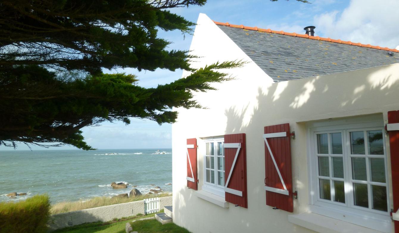 Maison en bord de mer avec jardin Cléder