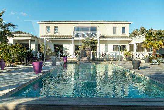 House with pool and terrace