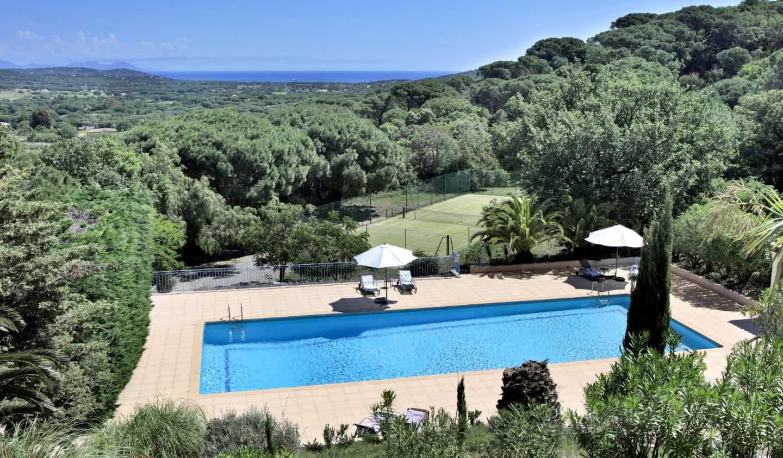 Villa with pool and garden Ramatuelle