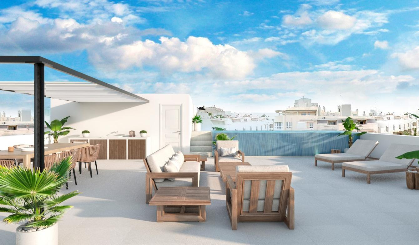 Apartment with terrace and pool Palma