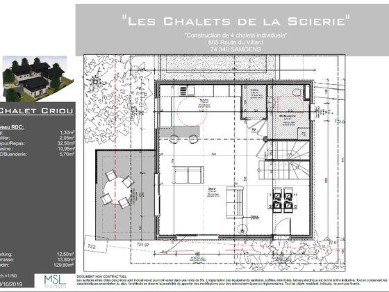 Vente maison 4 pièces 133,55 m2