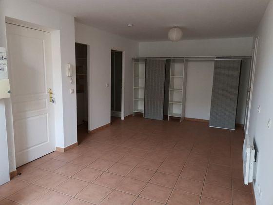 Location studio meublé 26,53 m2