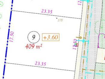 Terrain 409 m2