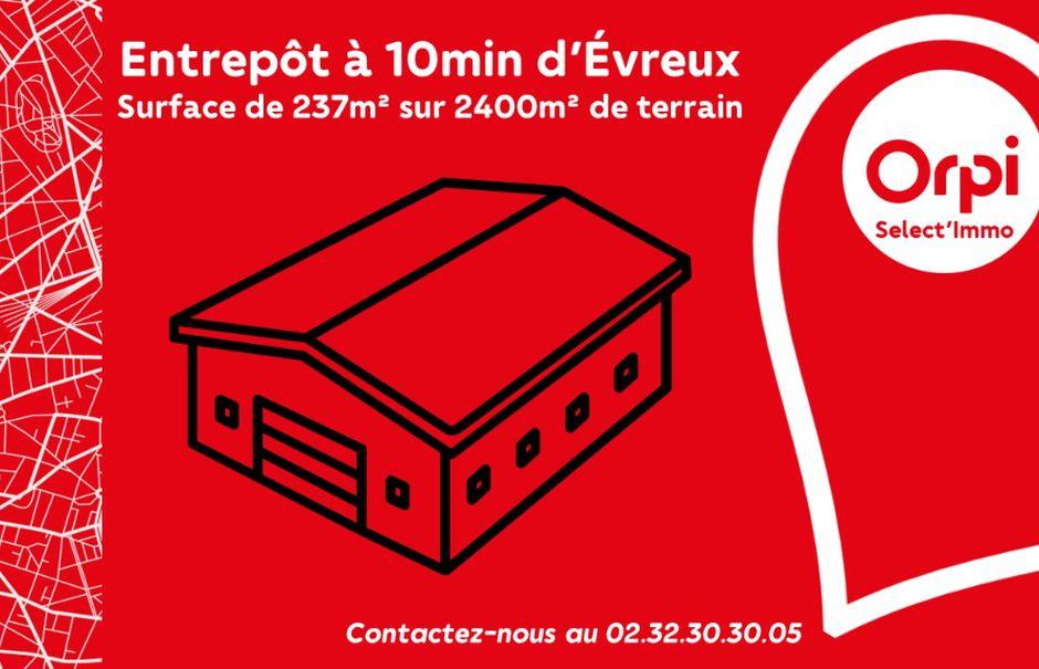 Vente locaux professionnels 1 pièce 230 m² à Le Plessis-Grohan (27180), 98 000 €