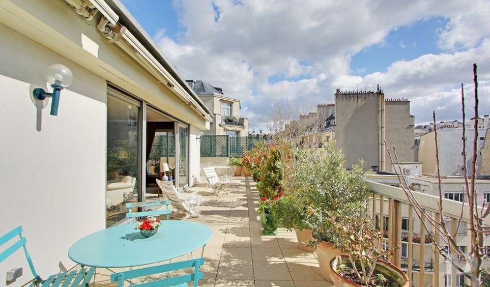 vente appartement de luxe paris 16 me 1 840 000 96 m. Black Bedroom Furniture Sets. Home Design Ideas