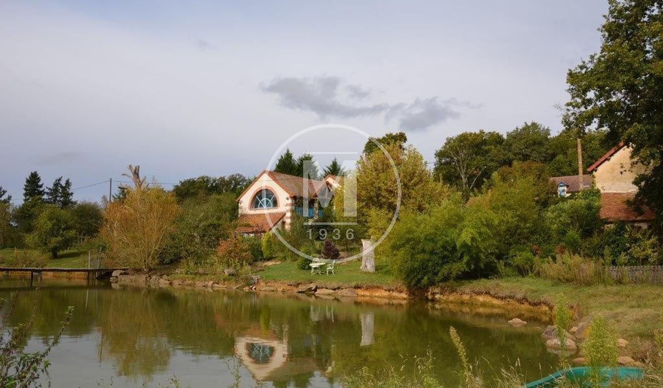 Maison avec terrasse Dun-le-Poëlier