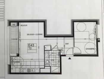 Appartement 2 pièces 47,78 m2