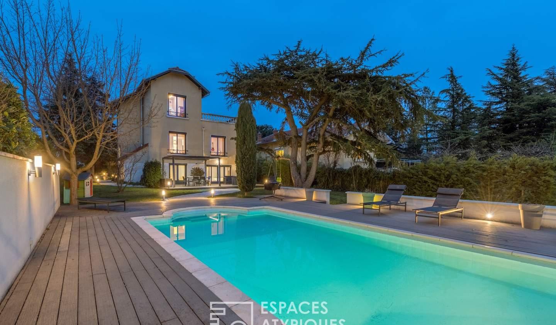 Maison avec piscine et terrasse Craponne