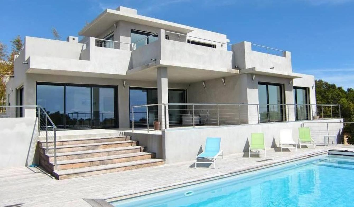Villa avec piscine et terrasse Conca
