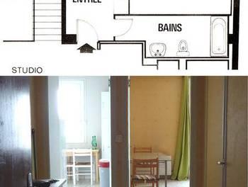 Studio meublé 46 m2