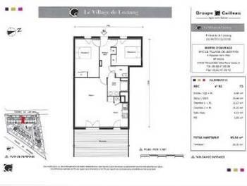 Maison 3 pièces 65,34 m2
