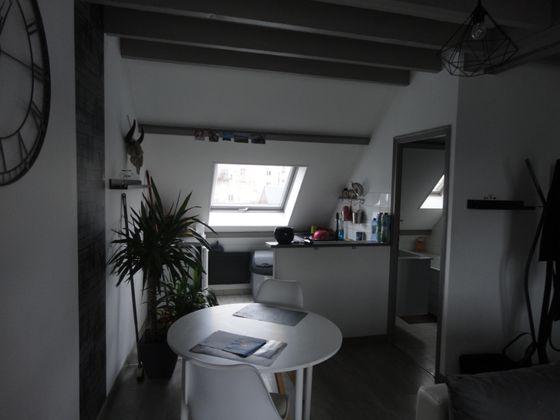 Location studio meublé 22,11 m2