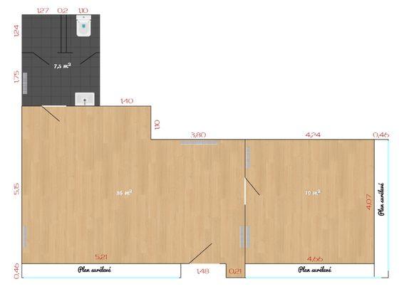 Location divers 3 pièces 53,5 m2
